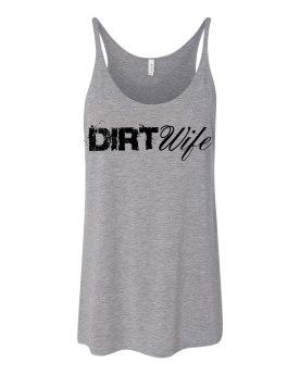 Gray Dirt Wife Tank - $25
