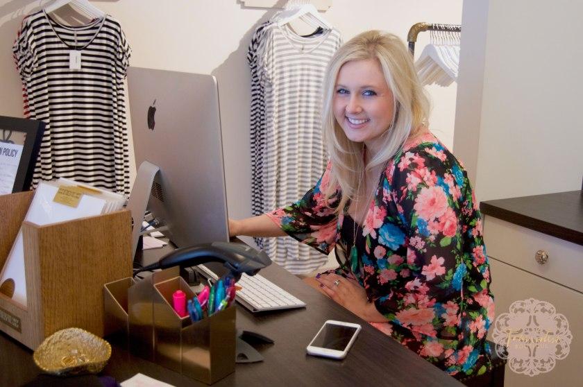 Boutique Owner Sarah Spooner