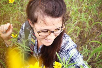 Flower Child - photo by Heidi Thorson